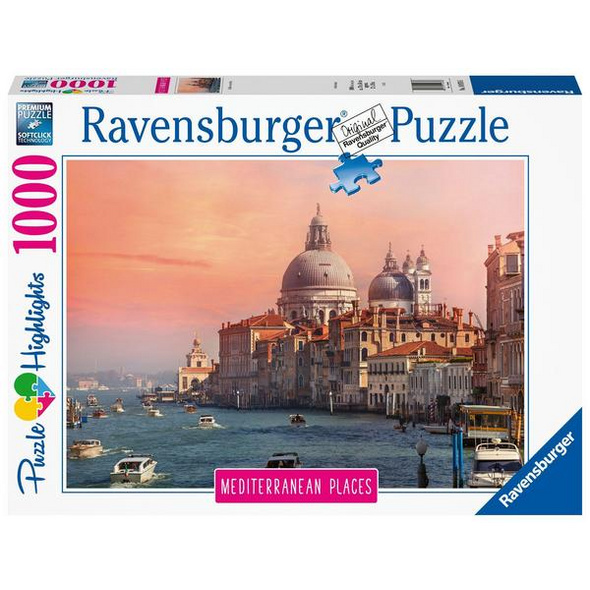 Ravensburger 14976 - Mediterranean Places, Italy, Puzzle Highlights,