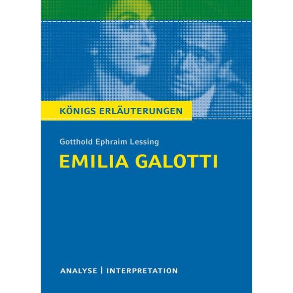 Emilia Galotti von Gotthold Ephraim Lessing.