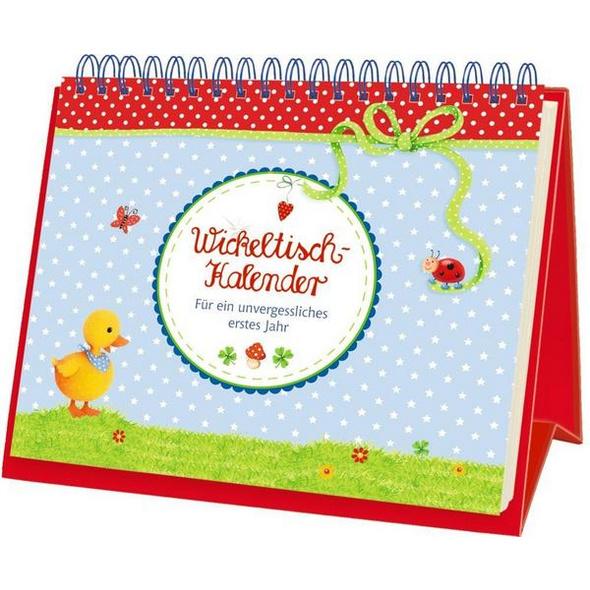 BabyGlück - Wickeltisch-Kalender
