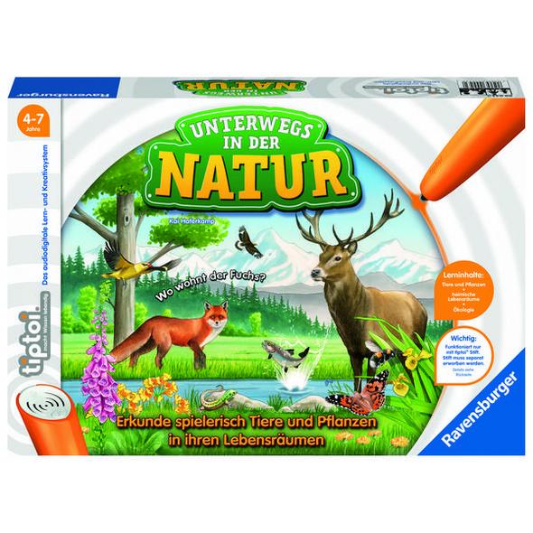 Ravensburger 00043 - tiptoi® Unterwegs in der Natur, Lernspiel