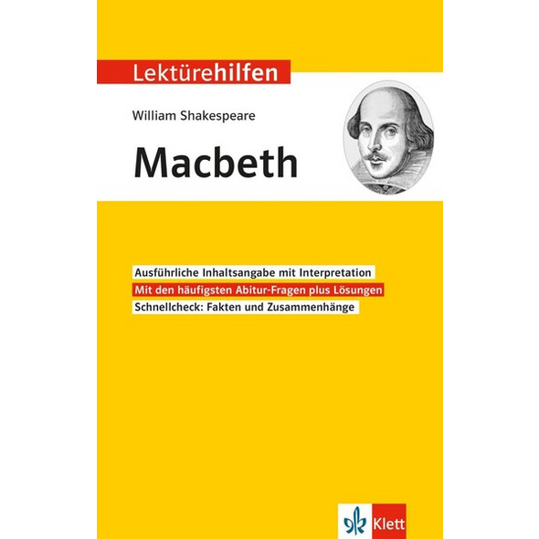 Lektürehilfen William Shakespeare 'Macbeth'
