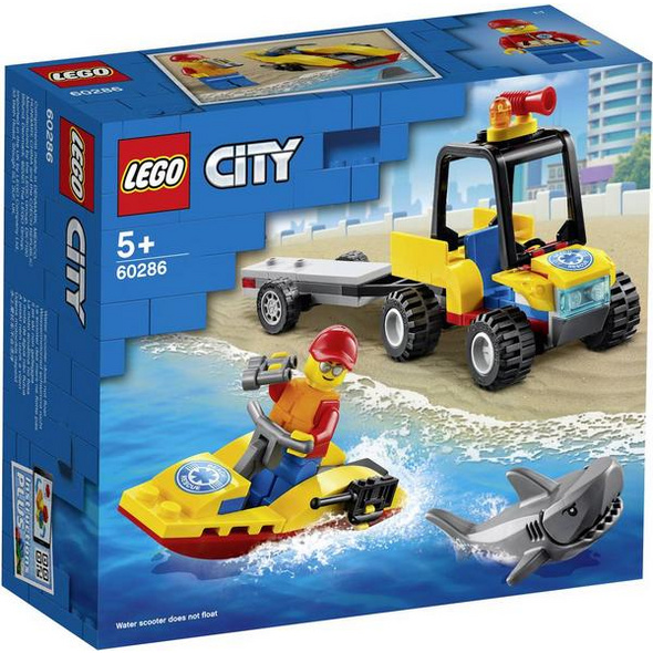 LEGO® City 60286 - Strand Rettungsquad, Bausatz,