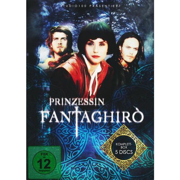 Prinzessin Fantaghirò - Komplettbox [5 DVDs] (Verbesserte Bildqualität)