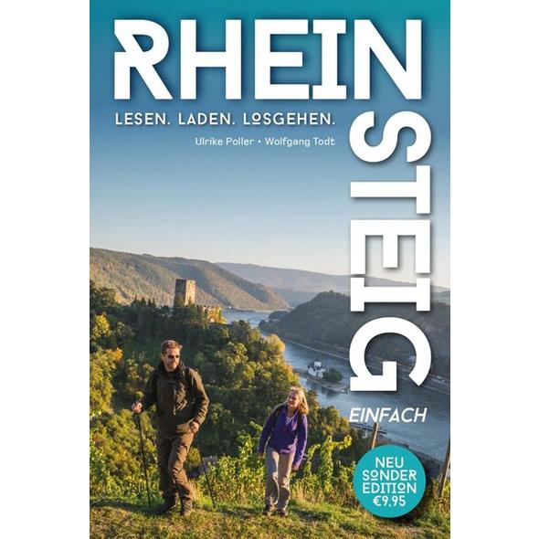 Rheinsteig einfach – Pocket-Wanderführer zum kleinen Preis