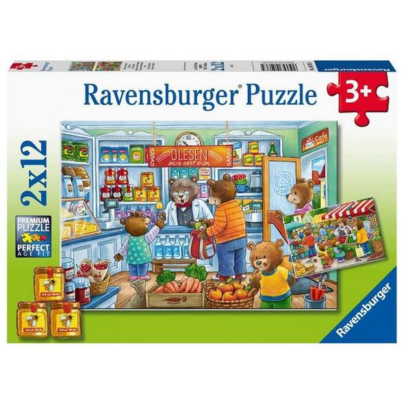 Ravensburger 05076 - Komm, wir gehen einkaufen, Puzzle,