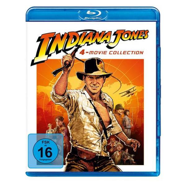 Indiana Jones 1-4  [4 BRs]