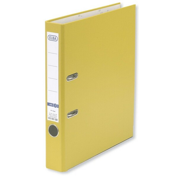 Ordner Elbasmart 5cm gelb