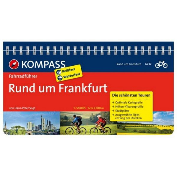 KOMPASS Fahrradführer Rund um Frankfurt