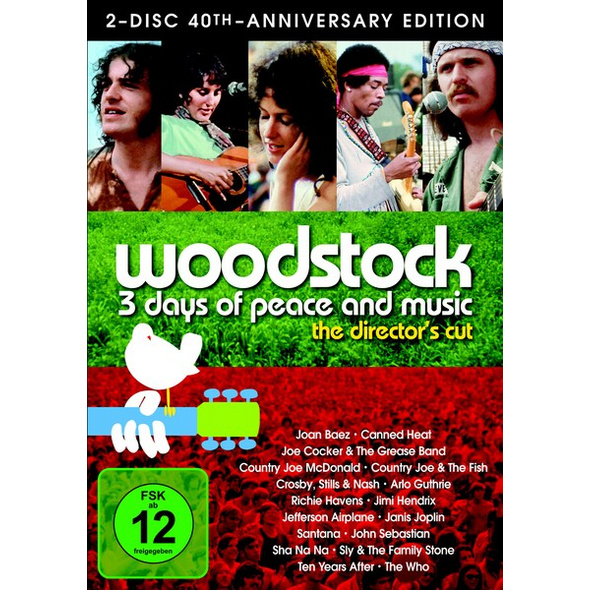Woodstock - 40th Anniversary Edition  Director's Cut [2 DVDs]