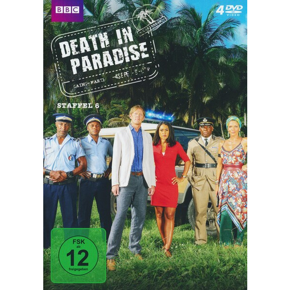 Death in Paradise - Staffel 6  [4 DVDs]