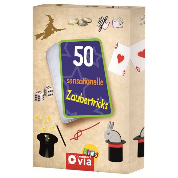 50 sensationelle Zaubertricks