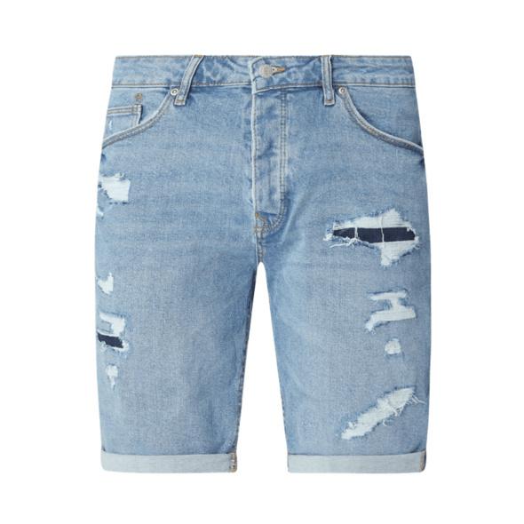 Jeansshorts mit Stretch-Anteil