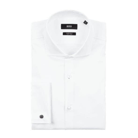 Regular Fit Business-Hemd aus Twill