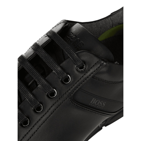 Sneaker aus Leder Modell 'Saturn'