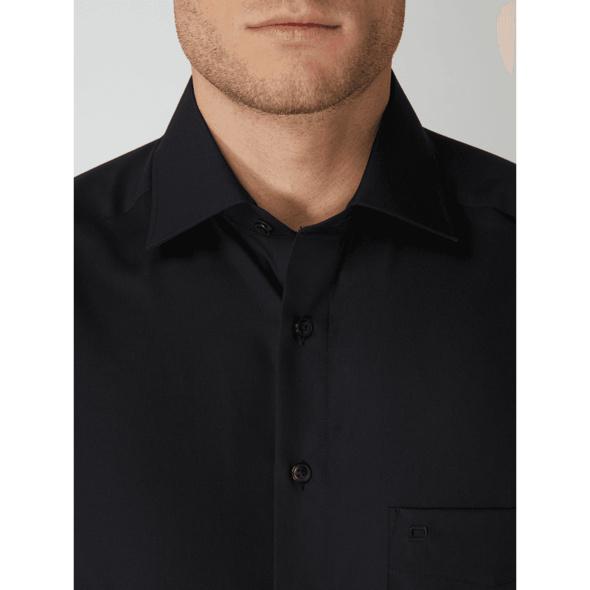 Regular Fit Business-Hemd aus Popeline