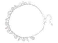 Fußkettchen - Silver Feather