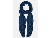 Schal, elastisches Spitzenband, Jersey