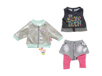 BABY born® City Outfit 43cm, Puppenkleidung
