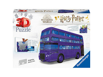 3D-Puzzle Doppelstock-Bus, B28cm, 216 Teile, Harry Potter Knight Bus
