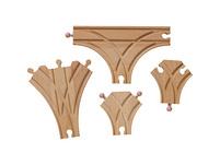 Holzschienen-Set, 31 tlg.