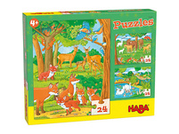 HABA 305468 Puzzles Tierfamilien
