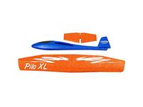 Schaumwurfgleiter 2in1 Pilo XL, blau