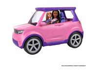 Barbie Big City Dreams SUV, Auto inkl. Bühne und Zubehör, Spielset