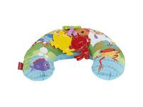 Fisher-Price Rainforest Spielkissen Bauchlage, Baby-Spielzeug für Neugeborene