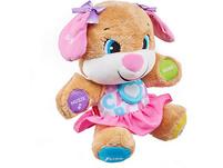 Fisher-Price Lernspaß Hundefreundin, Baby-Spielzeug, Kuscheltier, Lernspielzeug