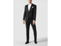 Slim Fit Business-Hemd aus Popeline