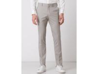 Slim Fit Anzughose mit Webmuster Modell 'Mylo'