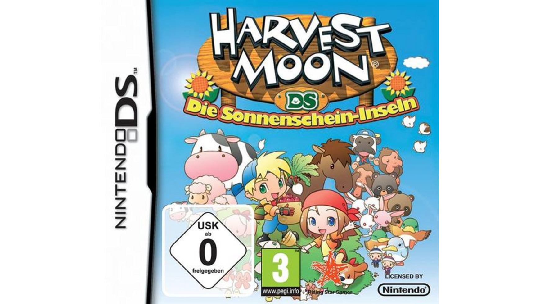 harvest moon die sonnenschein inseln geld