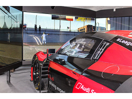 Audi R8 LMS Rennsimulator in Berlin (60 Min.)