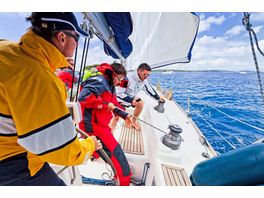 Skipper-Training in Kroatien