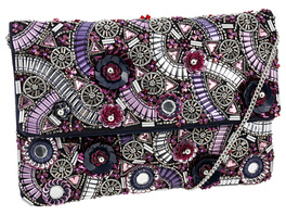 Tasche - Purple Sequins