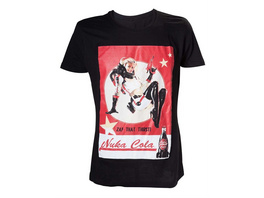 Fallout - T-Shirt Nuka Cola Lady (Größe M)