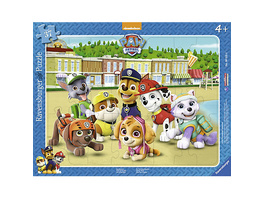Rahmen-Puzzle, 37 Teile, 32,5x24,5 cm, Paw Patrol Familienfoto