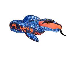 Schlange Snakesss blau und orange