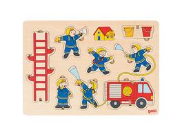 Aufstellpuzzle Feuerwehr
