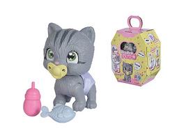 Pamper Petz Katze - Tierbaby mit Trink- und Nässfunktion, magischer Pfote & 3 Überraschungen