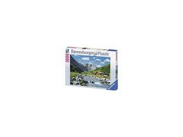 Puzzle 1000 Teile, 70x50 cm, Österreichische Berge