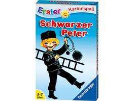 Erster Kartenspaß Schwarzer Peter - Kaminkehrer