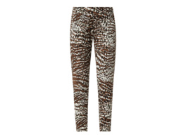 Jogpants mit Animal-Print Modell 'Candice'