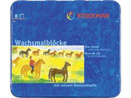 Stockmar Wachsmalblock Bienenwachs 8er Set