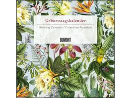 Immerwährender Geburtstagskalender floral 2020 – Archive by Portico Designs – Quadrat-Format 24 x 24 cm